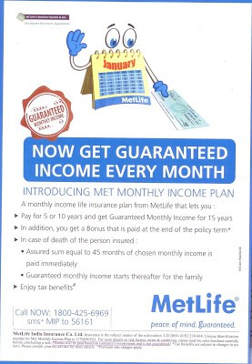 Ad Mad: Mad Advertisement(Metlife Monthly Income) 2