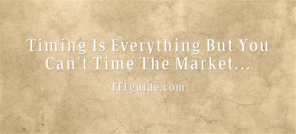 Market Timing not possible