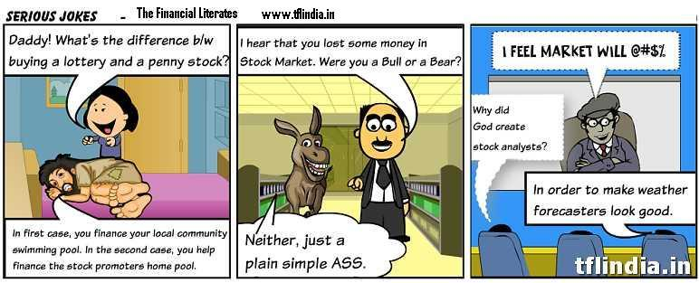 5 Funny Investment & Insurance Cartoons 3