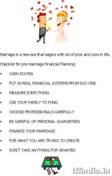 How to Plan Marriage & Avoid Financial Shock 2