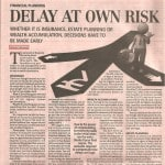Cost of Delaying Financial Decisions 4