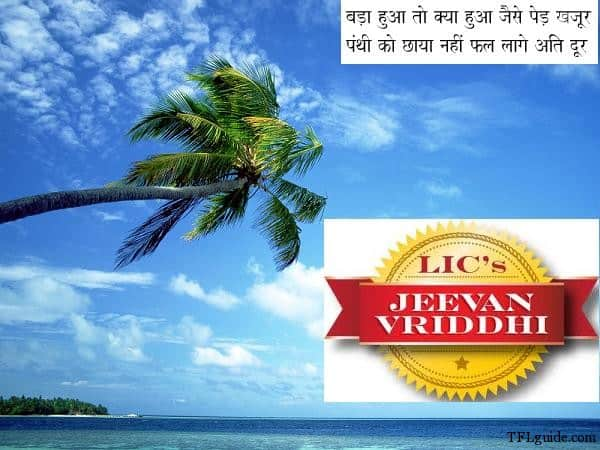 Jeevan Vriddhi LIC Jeevan Vriddhi Review   Think Twice