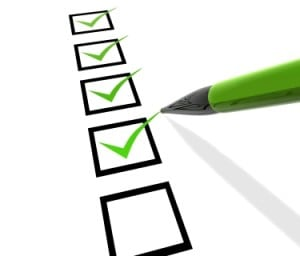 Personal Financial Plan checklist