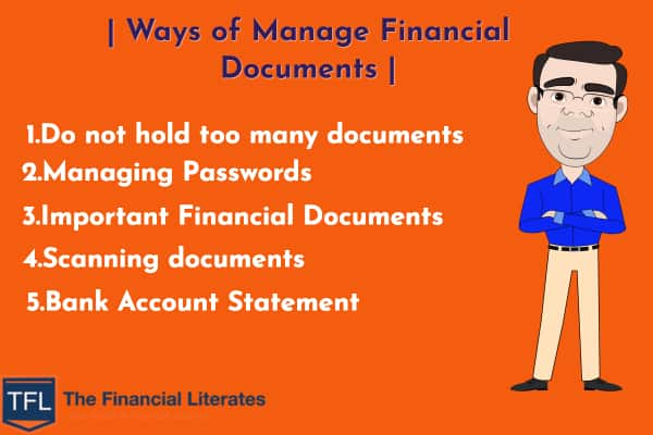 How to Manage Your Financial Documents
