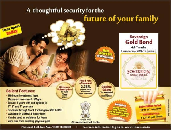 Sovereign Gold Bond Fund