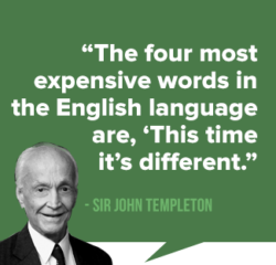 This Time It's Different – 4 most dangerous words in Investment world