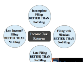 Incomplete Details - Even Then, File your Income Tax Returns