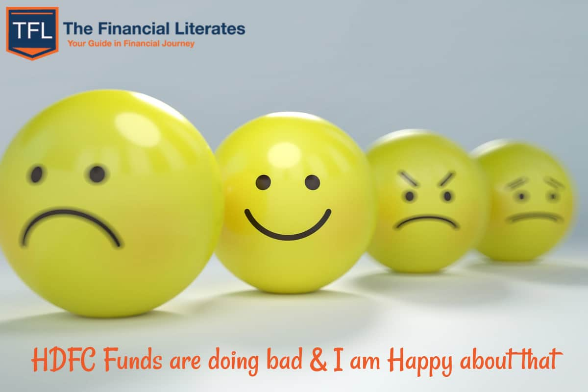 HDFC Funds are doing bad