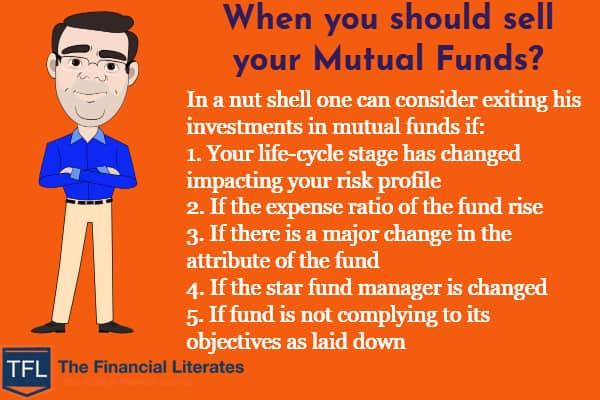 when you should sell your mutual funds