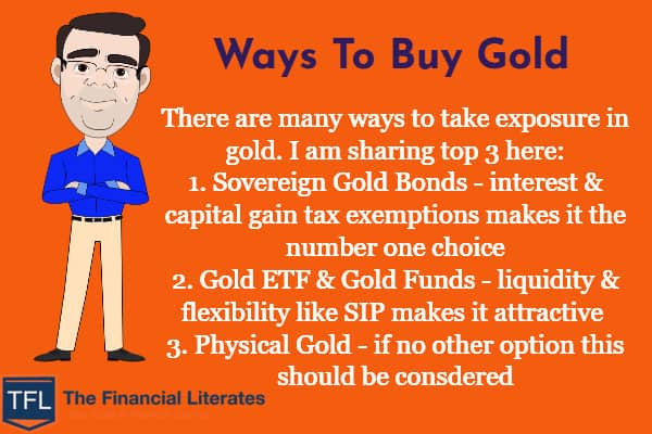 Ways To Buy Gold